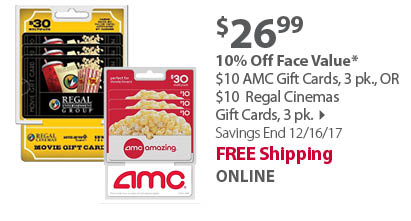 AMC Gift Cards