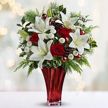 Telefloras Wondrous Winter Bouquet