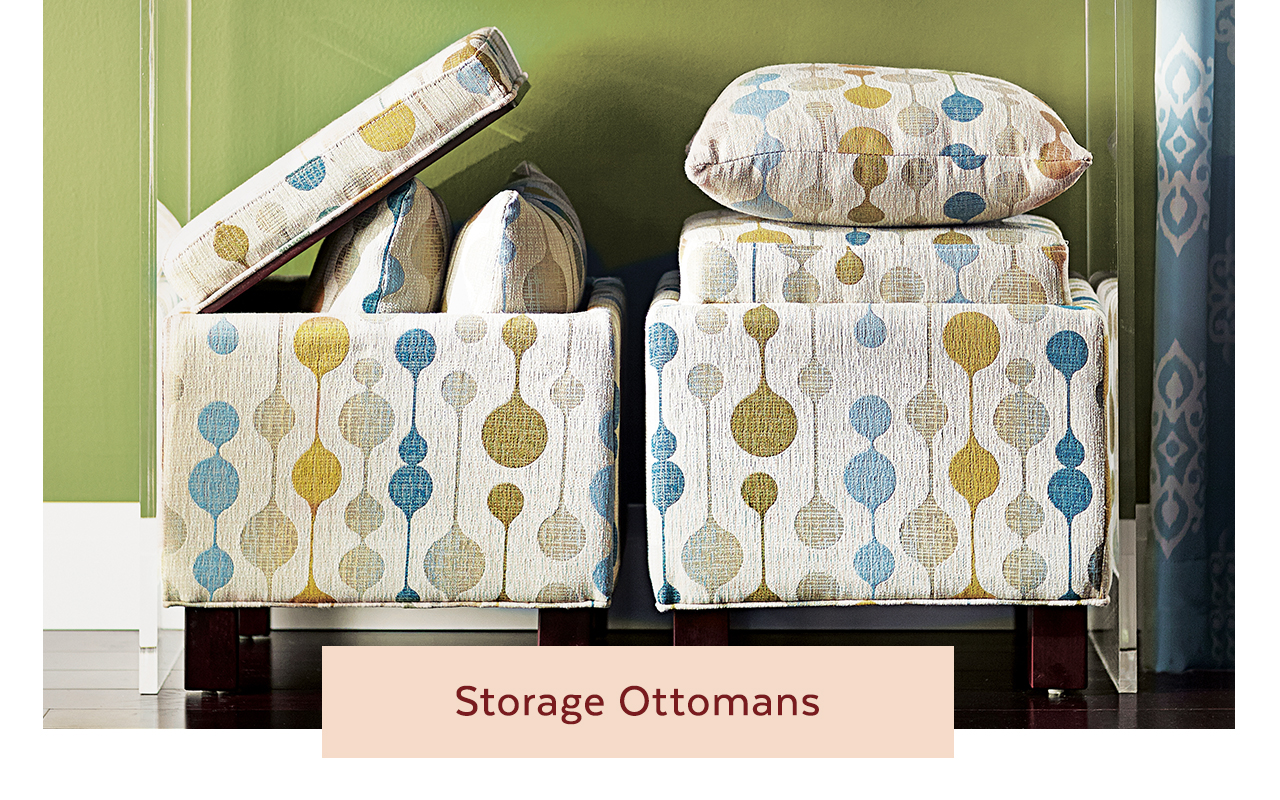 Storage Ottomans