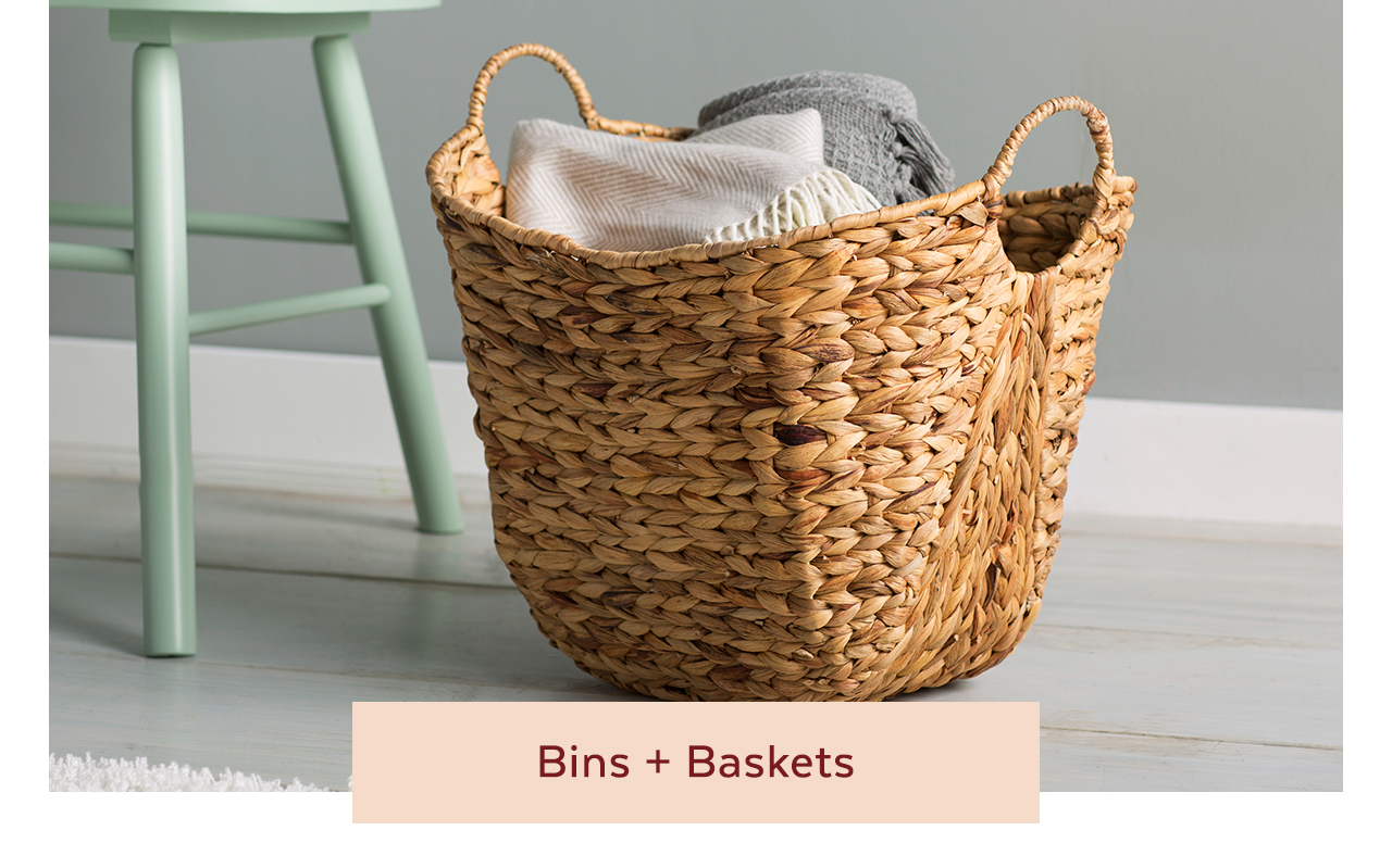 Bins + Baskets