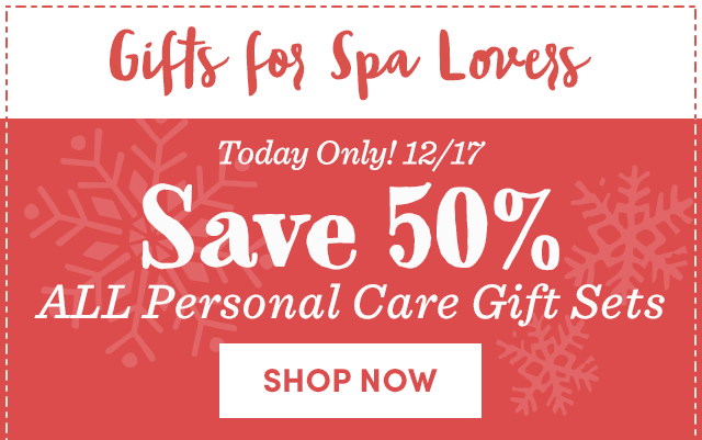 Save 50% ALL Personal Care Gift Sets
