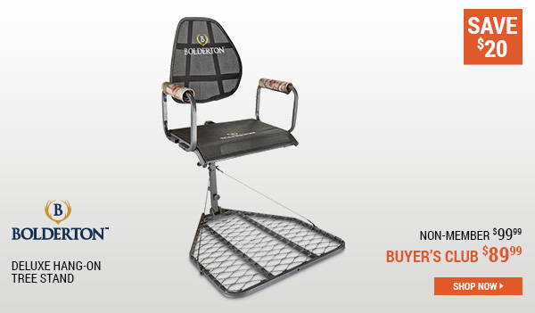 Bolderton Deluxe Hang-On Tree Stand