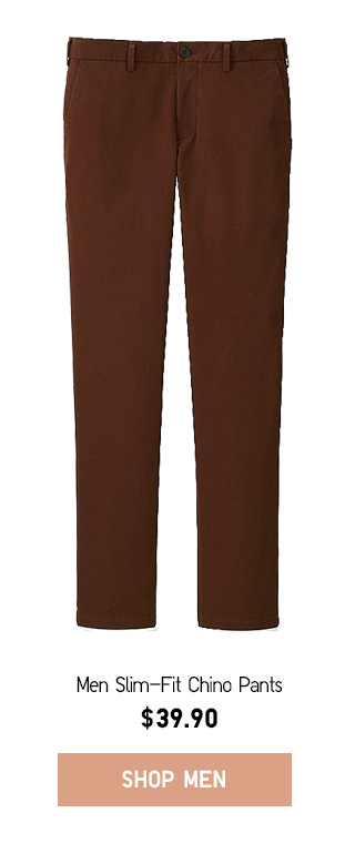 GOING SOMEWHERE - Men Slim-Fit Chino Pants - Shop Now