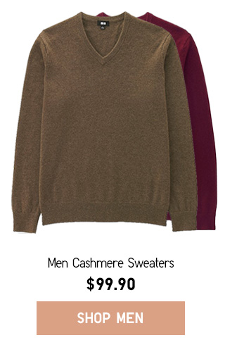 GOING SOMEWHERE - Men's Cashmere Sweater - Shop Now