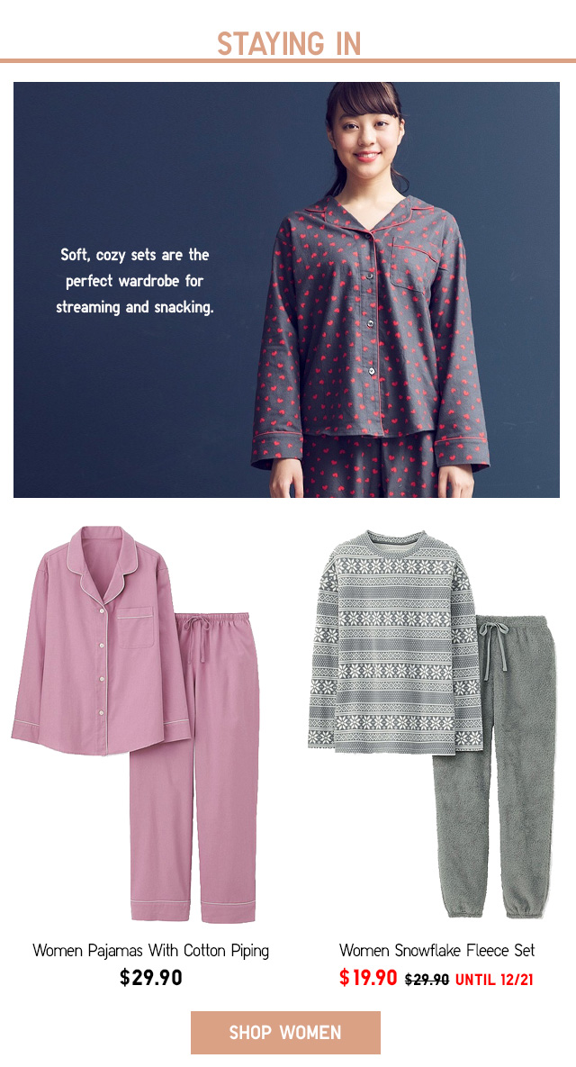 STAYING IN - Women's Loungewear - Shop Now