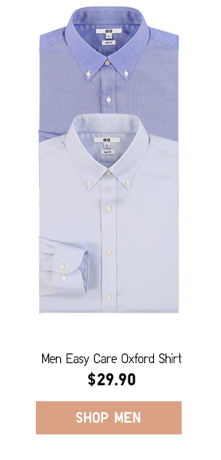 GOING SOMEWHERE - Men Easy Care Oxford Shirt - Shop Now