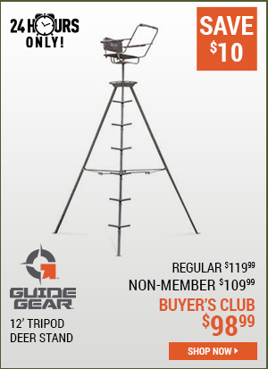 Guide Gear 12 Foot Tripod Deer Stand
