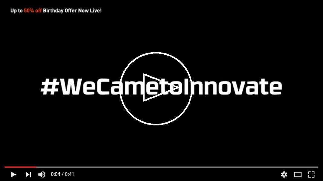 #WECAMETOINNOVATE
