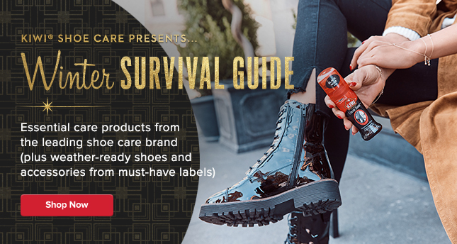 Kiwi Shoe Care: Winter Survival Guide