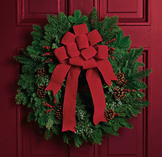 Classic Holiday Wreath