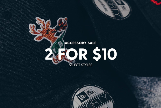 Accessory Sale - 2 For $10