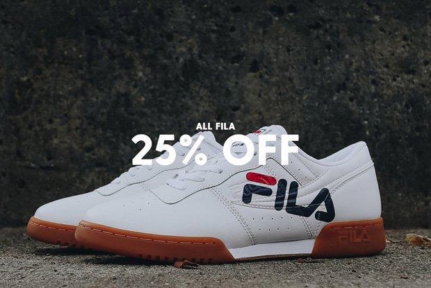 Fila - 25% Off