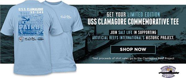USS Clamagore Commemorative Tee.