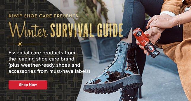 Kiwi Shoe Care: Winter Survival Guide