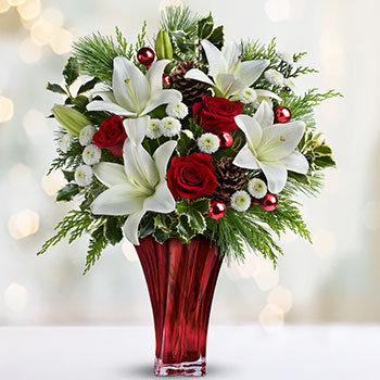 Telefloras Wondrous Winter Bouquet