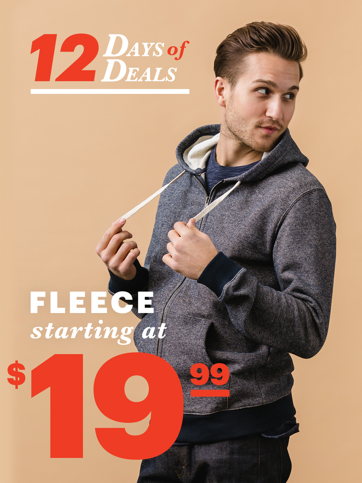 12 Days Of Deals: Day 6 Sweatshirts Starting at $19.99