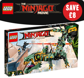 LEGO 70612 Ninjago Movie Green Ninja Mech Dragon