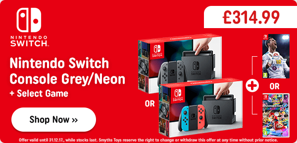 Nintendo Switch Console & One Select Game
