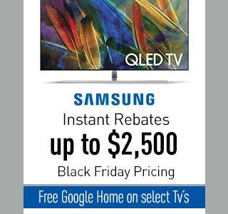 Samsung TV Banner