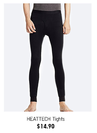 HEATTECH Tights  NOW $14.90  SHOP MEN'S HEATTECH