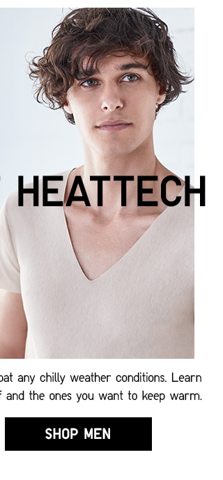 ALL ABOUT HEATTECH - SHOP MEN
