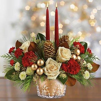 Telefloras Winter Pines Bouquet