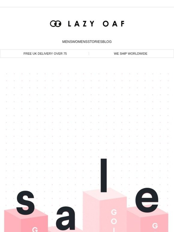 Lazy Oaf Sale Going Going Milled