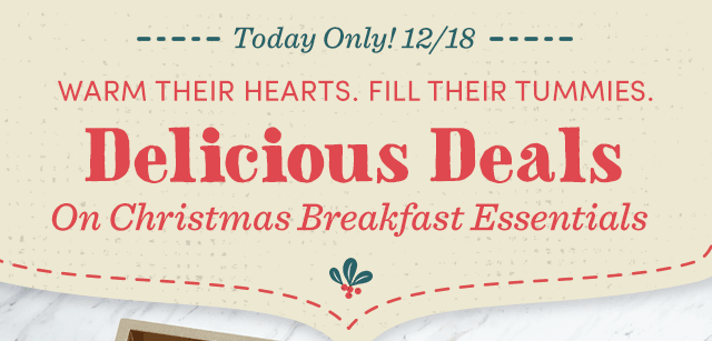 Delicious Deals On Christmas Breakfast Essentials