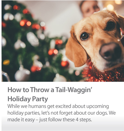 Tail-Waggin Holiday Party