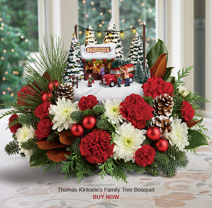 Thomas Kinkades's Family Tree Bouquet