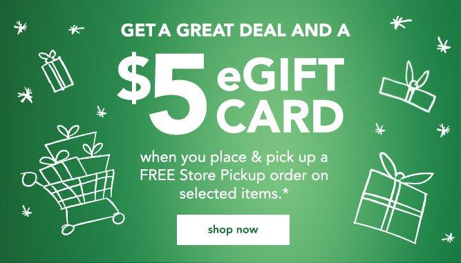 get a great deal and a 5 egift card - Babies R Us Egift Card