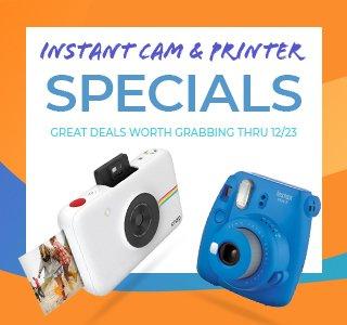 Instant Camera Banner