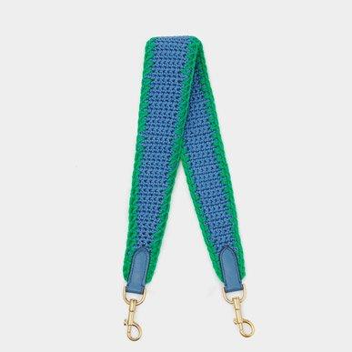Periwinkle crocket strap