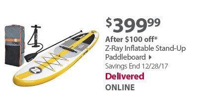 Z-ray paddleboard