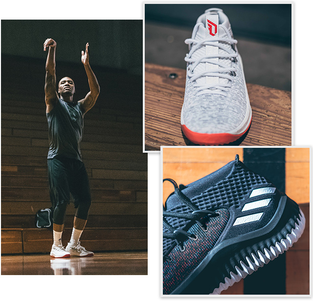new product 889dd 42986 Adidas All new Dame 4 colorways  Milled