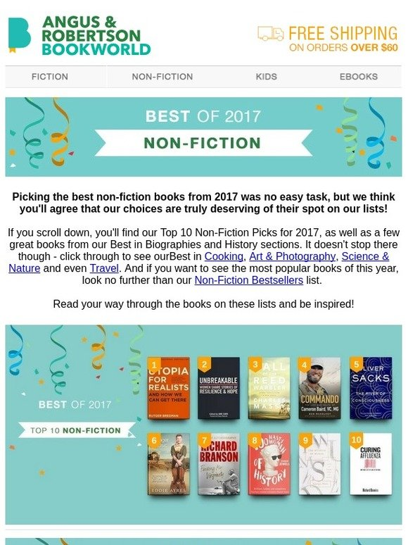 Bookworld Our Top Non Fiction Books For 2017 Are Here Milled