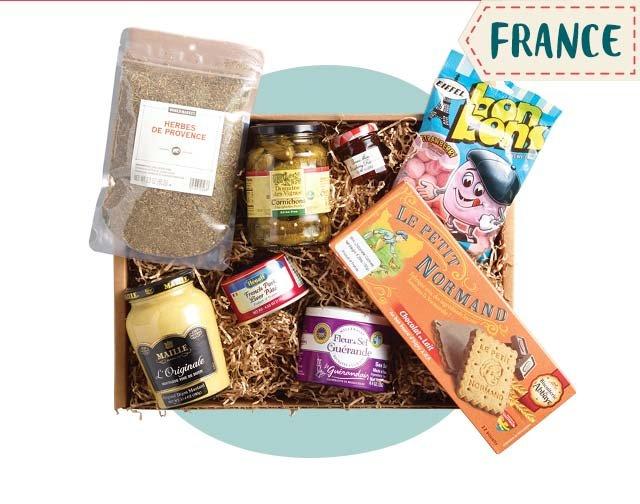 World Taste Box - France