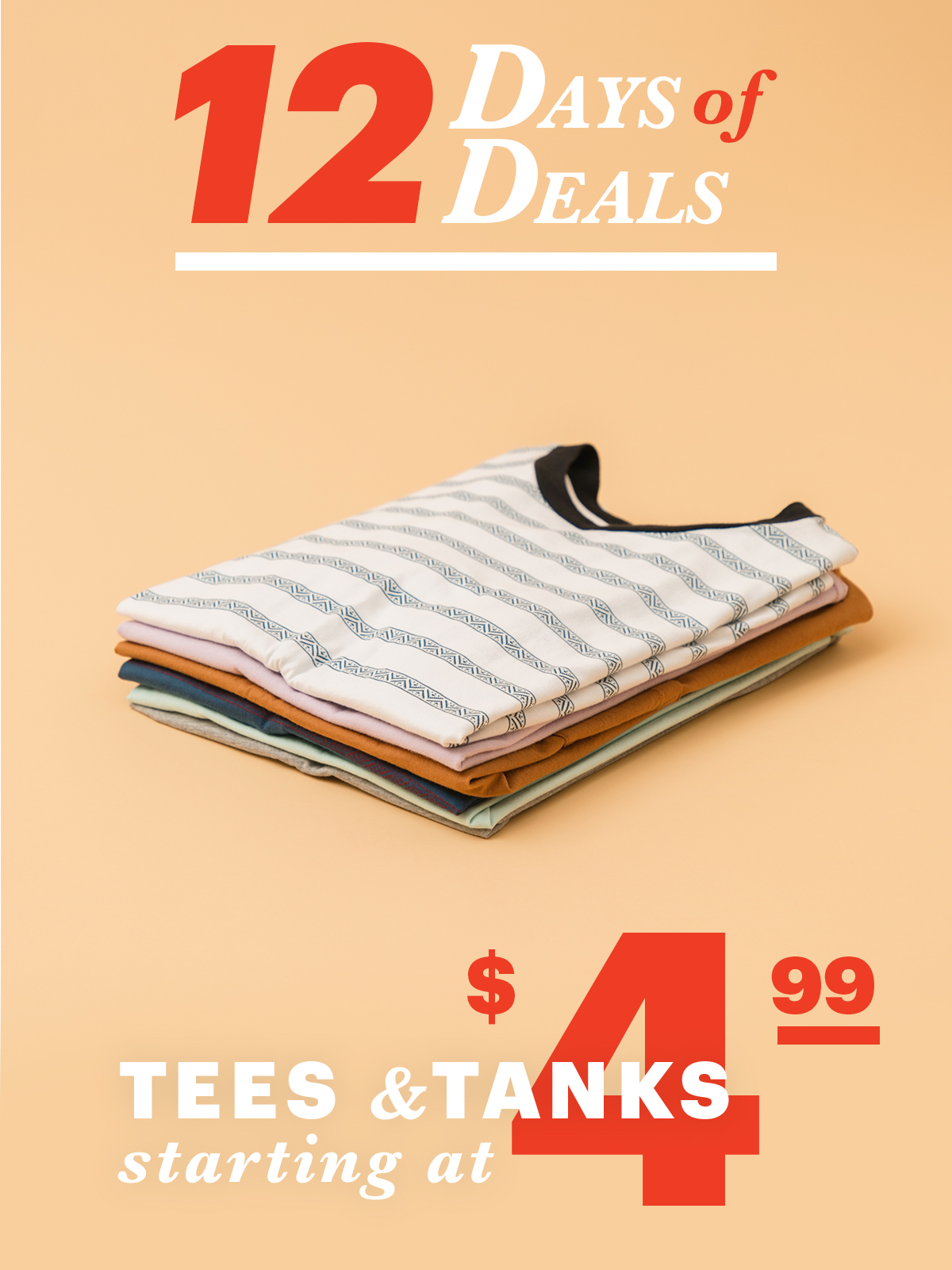 12 Days Of Deals: Day 7 Tess & Tanks Starting at $4.99