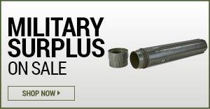 Military Surplus on Sale