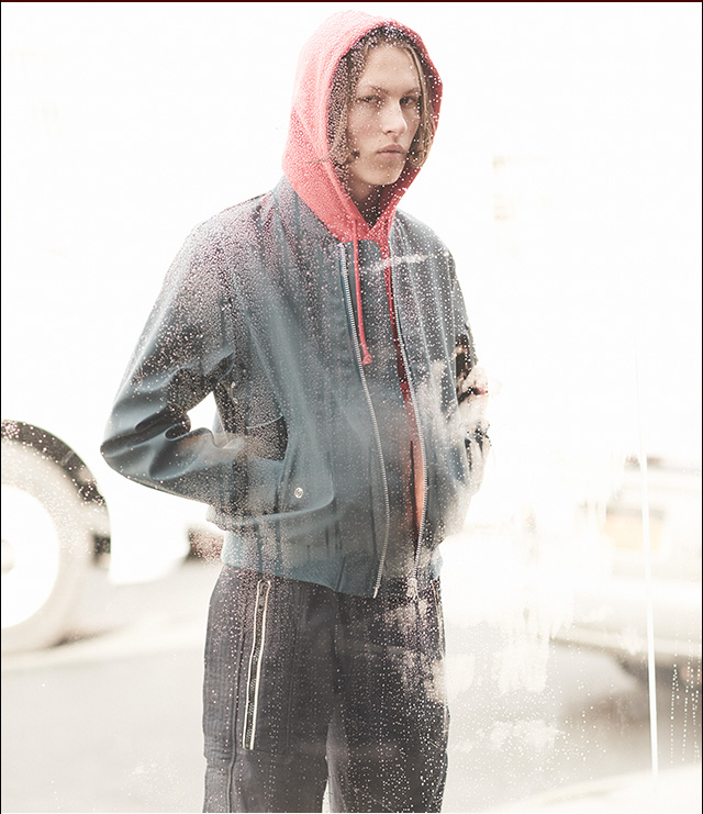 Stay warm and dry with these head-turning coats..