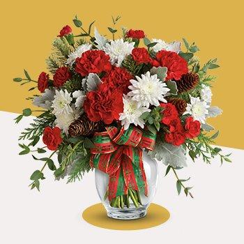Telefloras Holiday Shine Bouquet