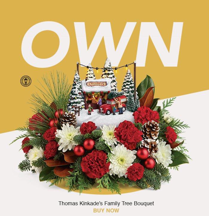 Thomas Kinkades's Family Tree Bouquet