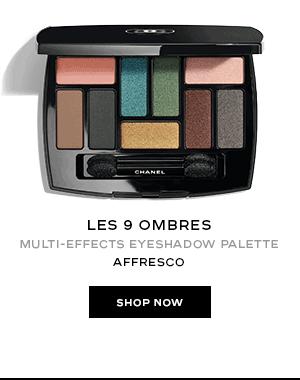 LES 9 OMBRES Multi-Effects Eyeshadow Palette in Affresco