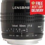 56mm f/1.6 Velvet Lens