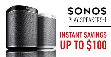 Sonos PLAY Speakers Banner