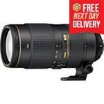 80-400mm f/4.5-5.6G ED VR AF-S Lens