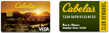 Cabela's CLUB Visa | Cabela's CLUB REWARDS