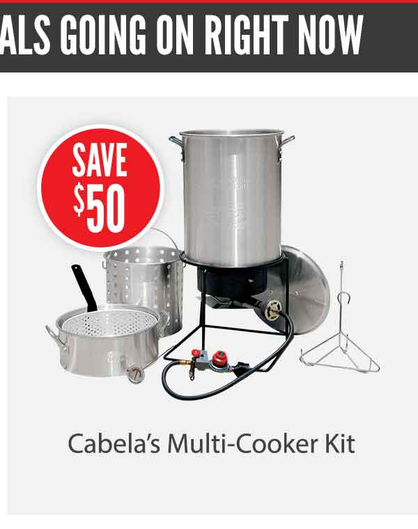 Cabela's Multi-Cooker Kit