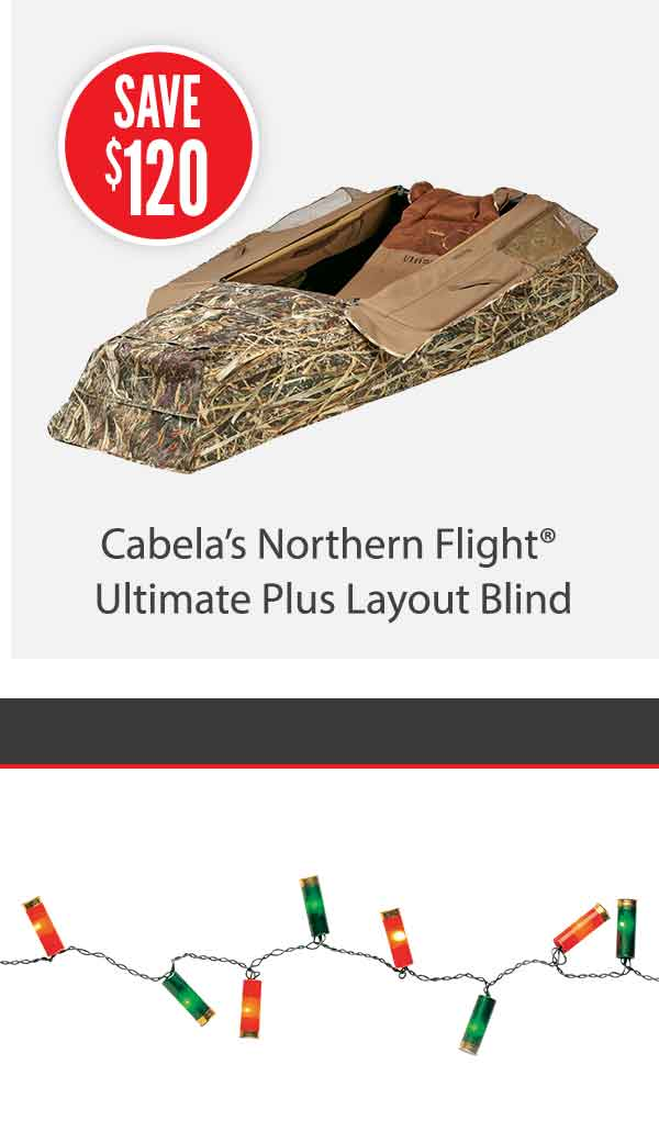 Cabela's Northern Flight Ultimate Plus Layout Blind