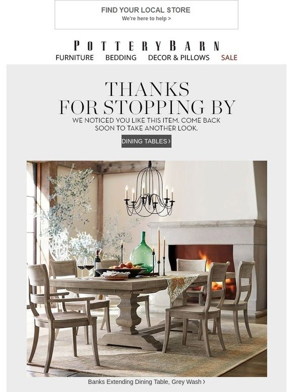 Pottery Barn Let Us Make Your Day Are You Still Interested Milled